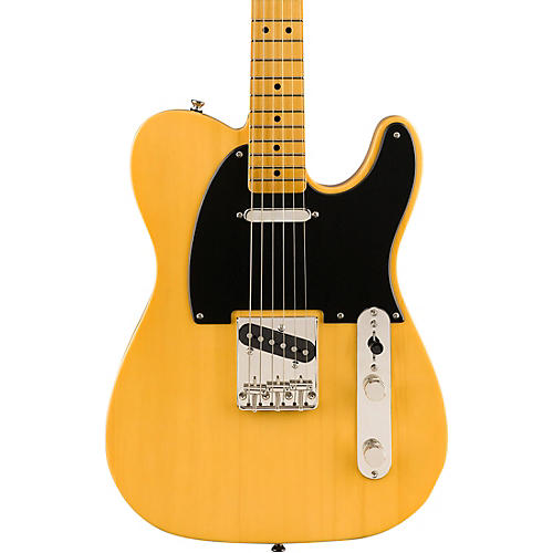 Squier Classic Vibe '50s Telecaster Maple Fingerboard Electric Guitar Butterscotch Blonde