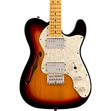 Classic Vibe '70s Telecaster Thinline Maple Fingerboard Electric Guitar 3-Color Sunburst