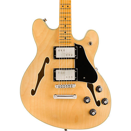 Squier Classic Vibe Starcaster Maple Fingerboard Electric Guitar Natural