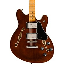 Classic Vibe Starcaster Maple Fingerboard Electric Guitar Walnut