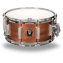 Classic Wood Mahogany Snare Drum with Chrome Hardware 14 x 6.5 in.