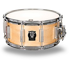Classic Wood Maple Snare Drum with Chrome Hardware 14 x 6.5 in.