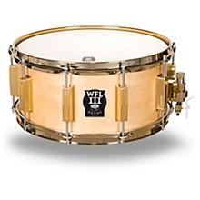Classic Wood Maple Snare Drum with Gold Hardware 14 x 5 in.