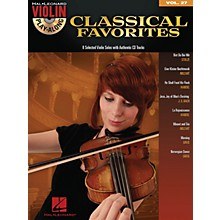 Hal Leonard Classical Favorites - Violin Play-Along Volume 27 Book/CD