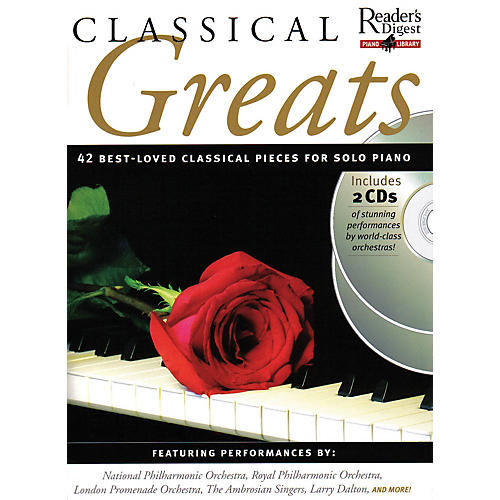 Music Sales Classical Greats Music Sales America Series Softcover with CD
