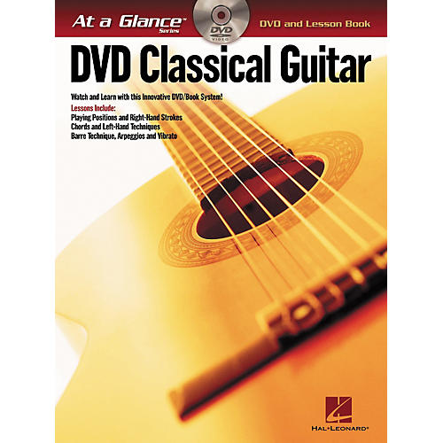 Hal Leonard Classical Guitar - At A Glance (Book/DVD)
