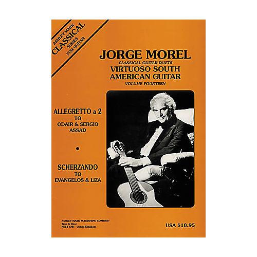 Ashley Mark Classical Guitar Duets: Virtuoso South American - Volume 14 Book
