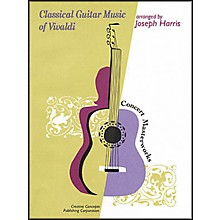 Creative Concepts Classical Guitar Music of Vivaldi Book
