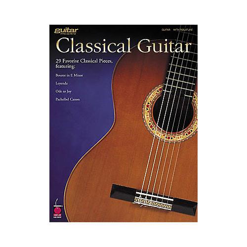 Hal Leonard Classical Guitar Tab Book