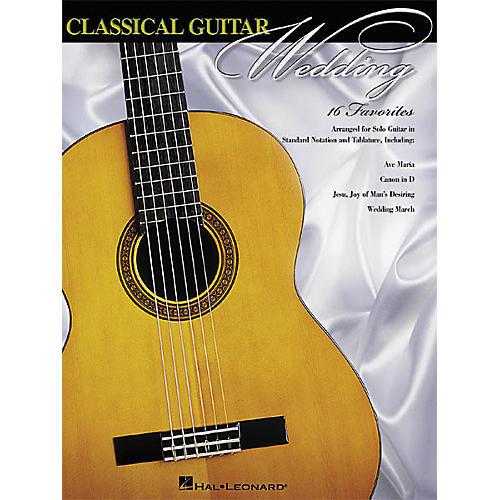 Hal Leonard Classical Guitar Wedding Guitar Solo Book