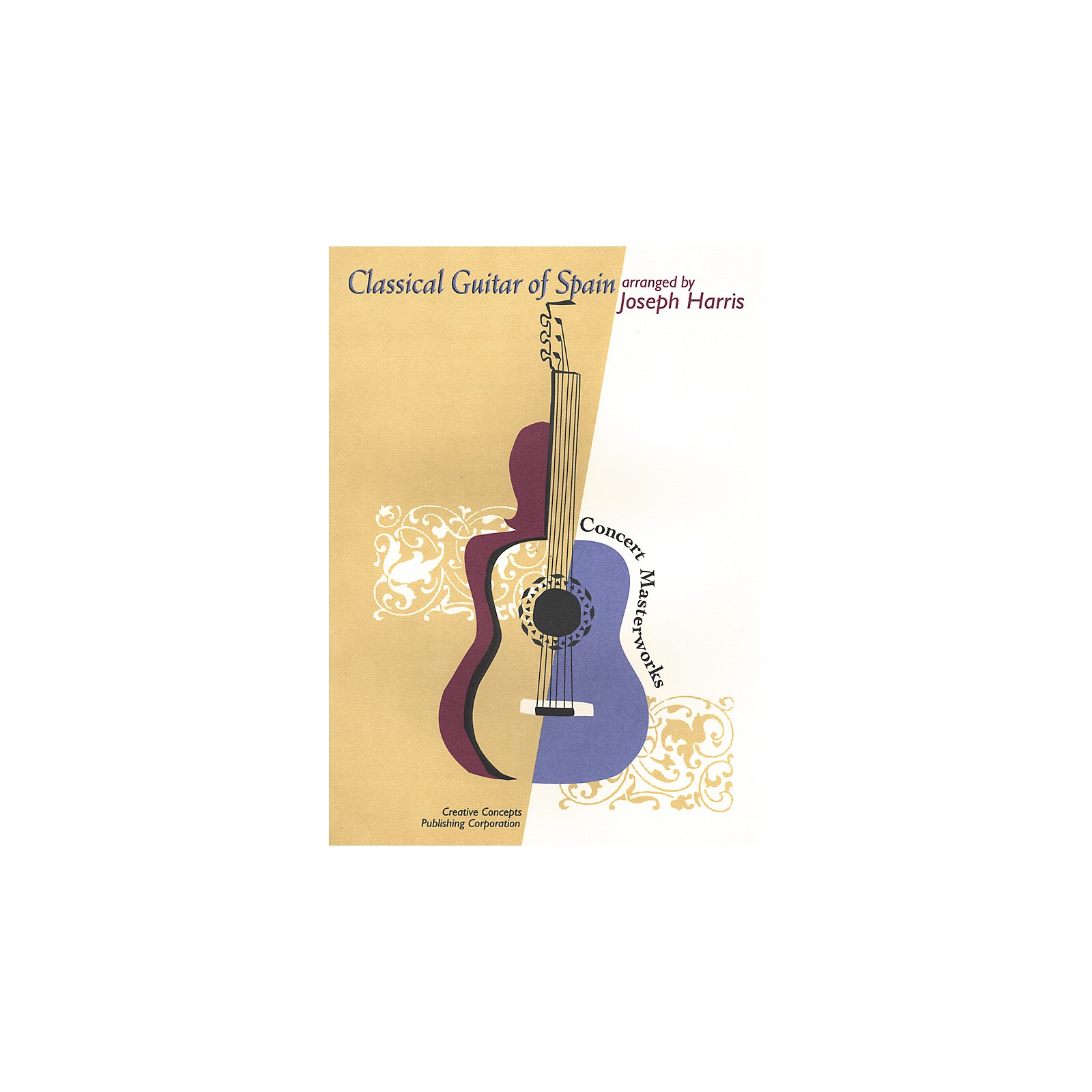 Creative Concepts Classical Guitar of Spain Book