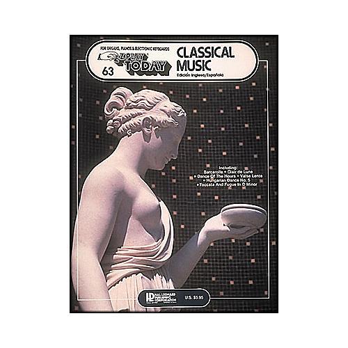 Hal Leonard Classical Music (English and Spanish) E-Z play 63