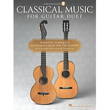 Hal Leonard Classical Music for Guitar Duet - Guitar Collection Book/Audio Online