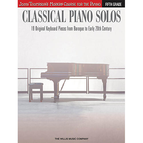 Willis Music Classical Piano Solos - Fifth Grade Willis Series Book by Various (Level Advanced)