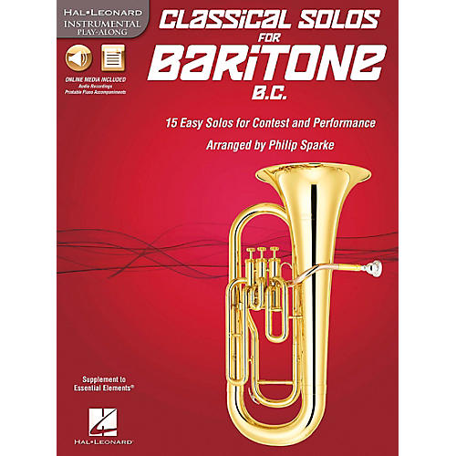 De Haske Music Classical Solos - 15 Easy Solos for Contest and Performance Book/CD