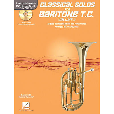 Hal Leonard Classical Solos for Baritone T.C., Vol. 2 Instrumental Folio Series Softcover with CD