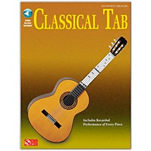 Cherry Lane Classical Tab Guitar SongBook/Online Audio Book/Online Audio