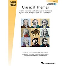 Hal Leonard Classical Themes - Level 3 Piano Library Series Book Audio Online