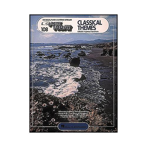 Hal Leonard Classical Themes (English and Spanish) E-Z Play 108
