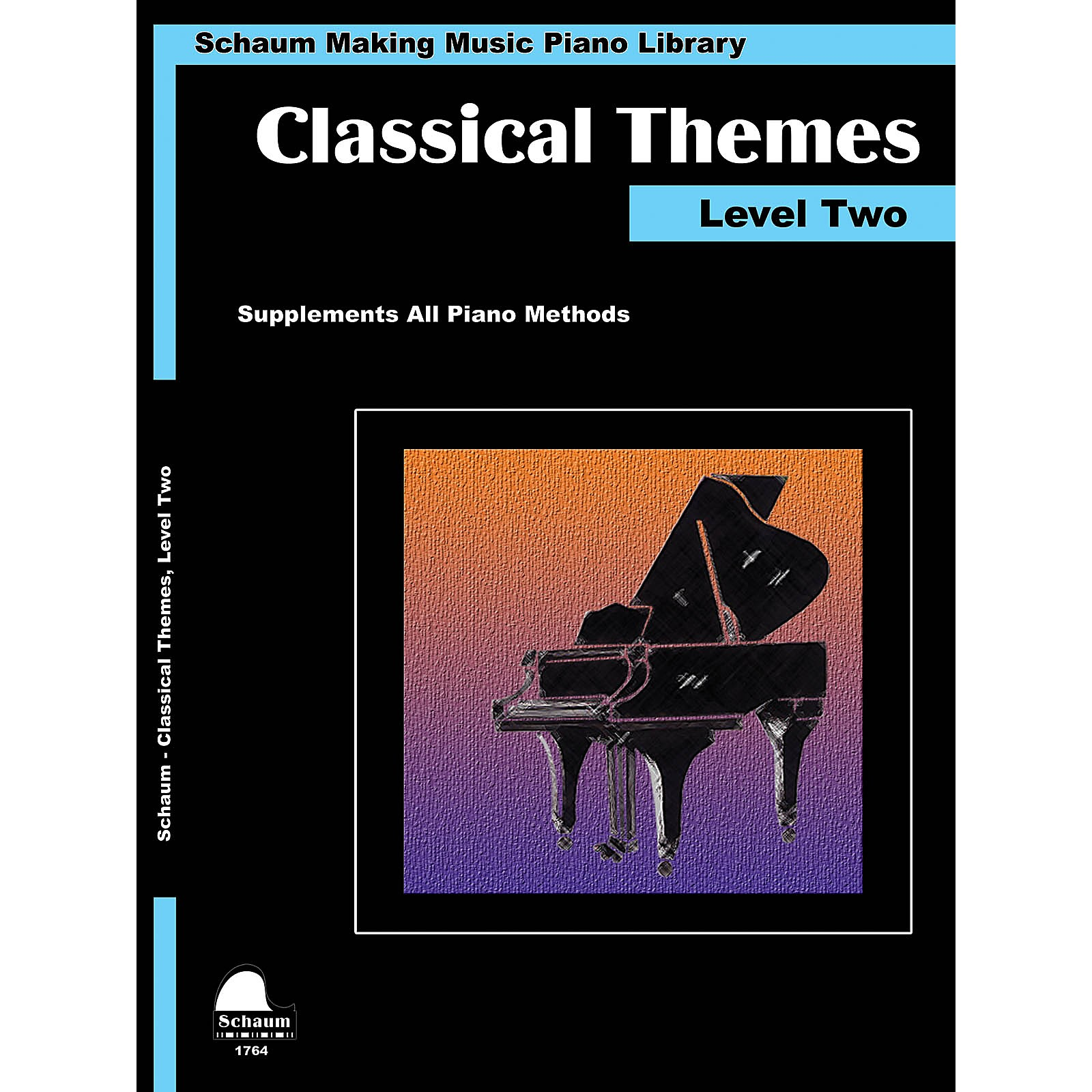 SCHAUM Classical Themes Level 2 (Schaum Making Music Piano Library) Educational Piano Book (Level Late Elem)
