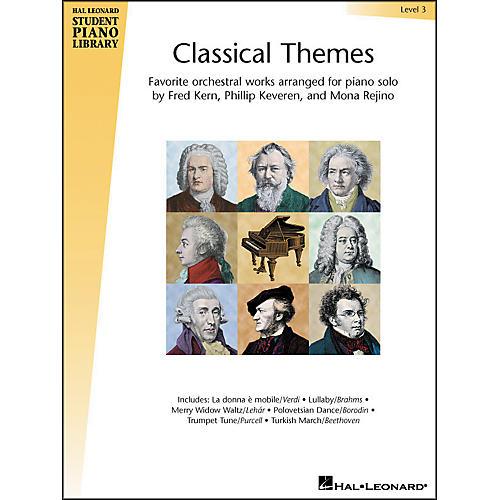 Hal Leonard Classical Themes Level 3 Hal Leonard Student Piano Library