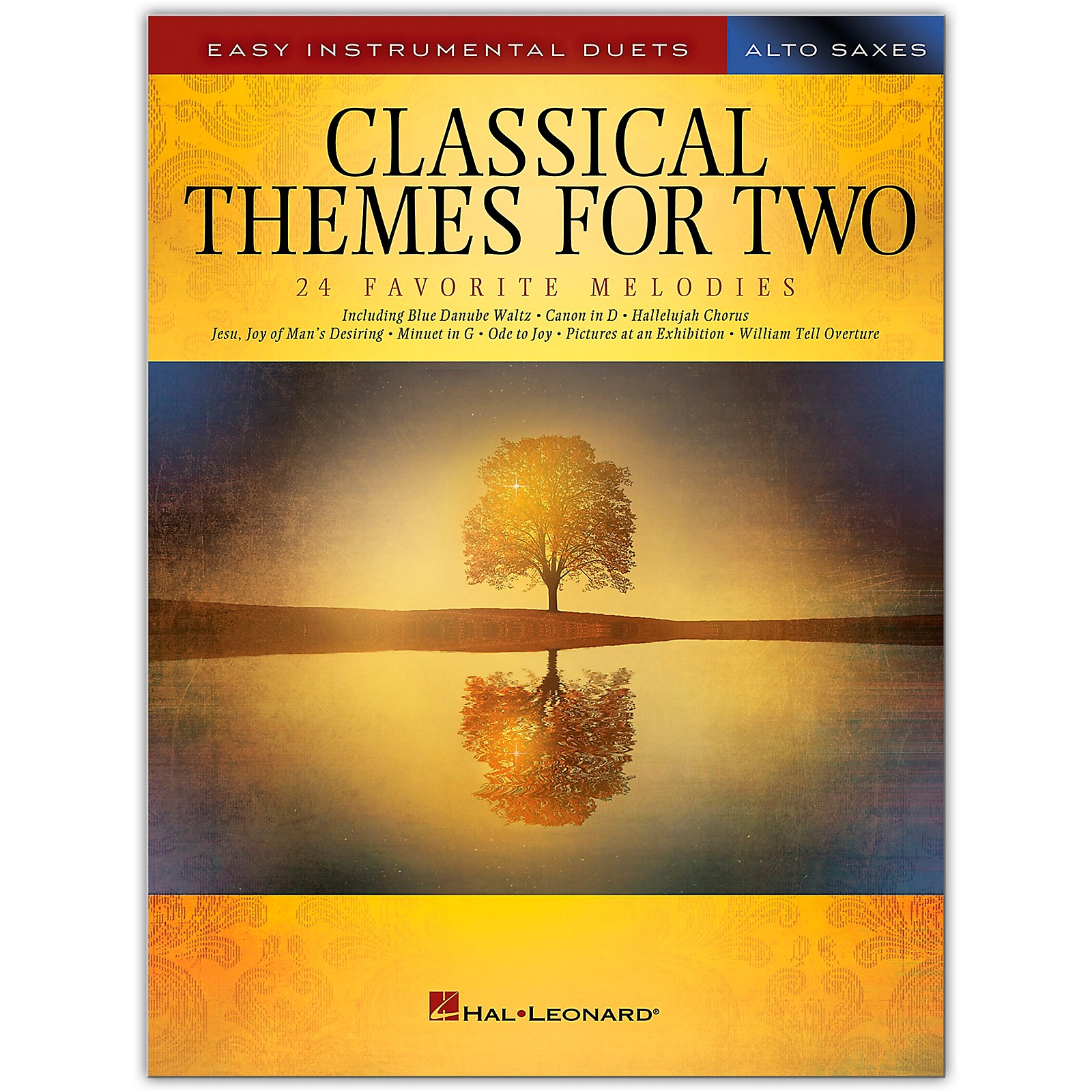 Hal Leonard Classical Themes for Two Alto Saxophones - Easy Instrumental Duets