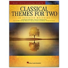 Hal Leonard Classical Themes for Two Violins - Easy Instrumental Duets