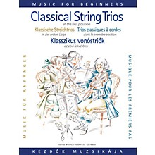 Editio Musica Budapest Classical Trio Music for Beginners (First Position) EMB Series Composed by Various Arranged by Lajos Vigh