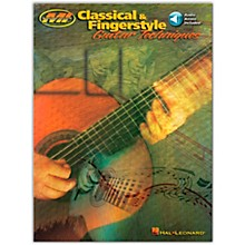 Hal Leonard Classical and Fingerstyle Guitar Techniques (Book/Online Audio)