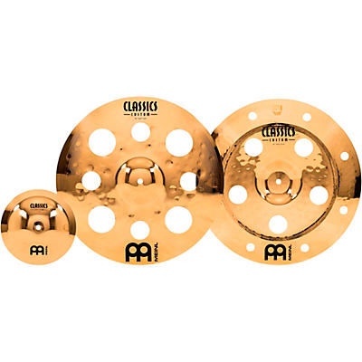 """Meinl Classics Custom Brilliant Effects Cymbal Pack with Free 8"""" Bell"""