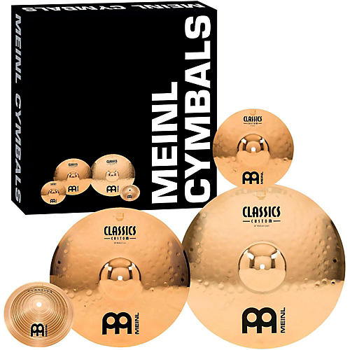 Meinl Classics Custom Crash Cymbal Pack