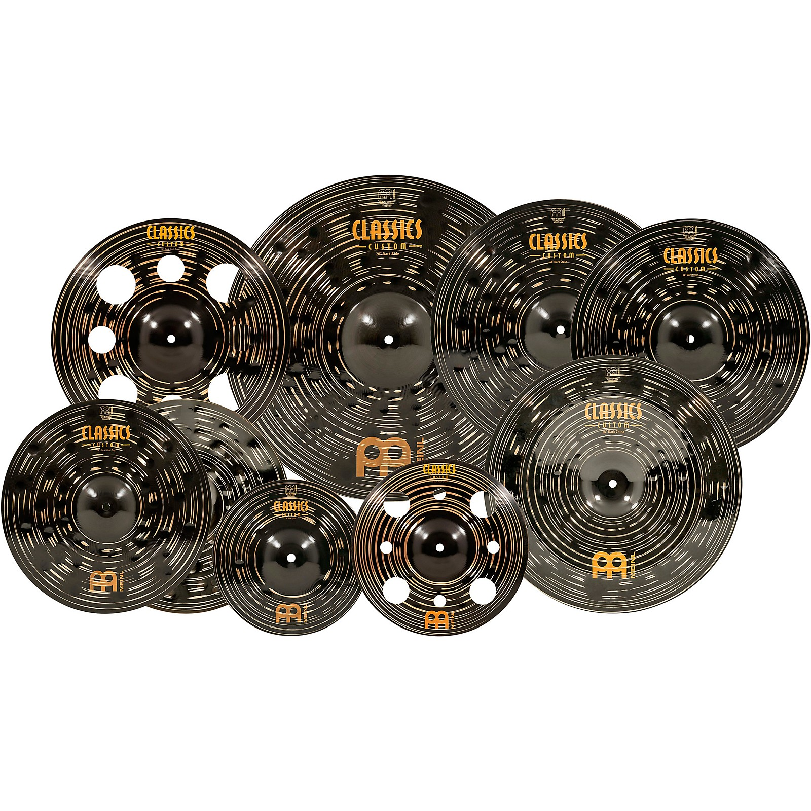 Meinl Classics Custom Dark Expanded Cymbal Set