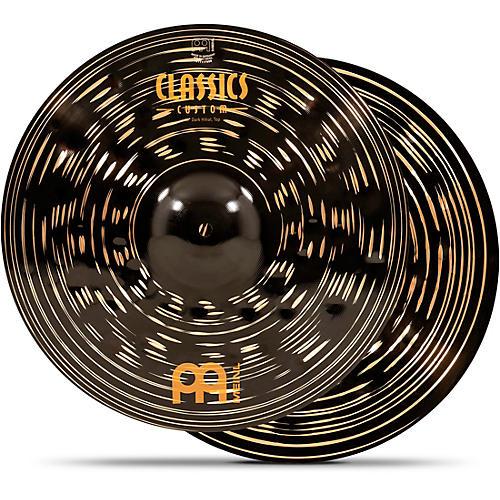 Meinl Classics Custom Dark Hi-Hat Cymbal Pair 16 in.