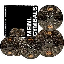 "Open BoxMeinl Classics Custom Dark Pack Bonus Box Set with FREE 18"" Dark Crash"