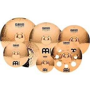 meinl classics custom double bonus pack cymbal box set with free 10 splash and free 16 trash. Black Bedroom Furniture Sets. Home Design Ideas