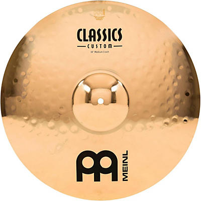 Meinl Classics Custom Medium Crash - Brilliant