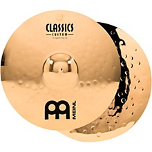 Meinl Classics Custom Powerful Hi-Hats - Brilliant