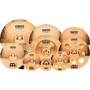 meinl classics custom triple bonus pack cymbal box set with free 8 bell 10 splash 12 trash. Black Bedroom Furniture Sets. Home Design Ideas