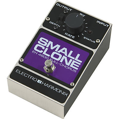 Electro-Harmonix Classics Small Clone Analog Chorus Guitar Effects Pedal