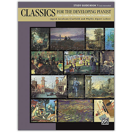 Alfred Classics for the Developing Pianist, Study Guide Book 1 Early Intermediate