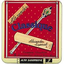 Classique Alto Saxophone Reeds Strength 2.5
