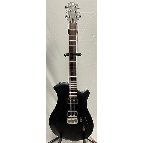 Relish Guitars Classy A Mary Solid Body Electric Guitar Black