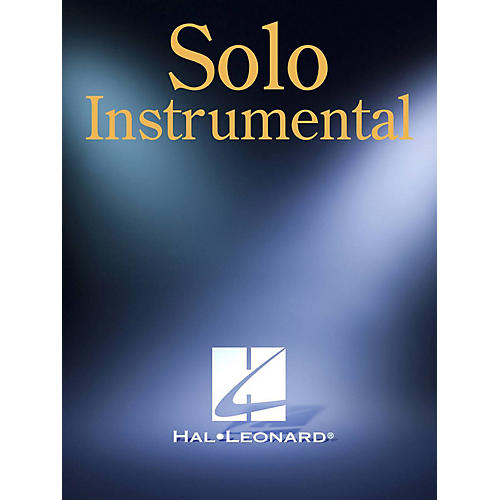 Hal Leonard Claude Bolling: Le Papillon (for Alto Saxophone & Piano) Woodwind Solo Series Performed by Claude Bolling