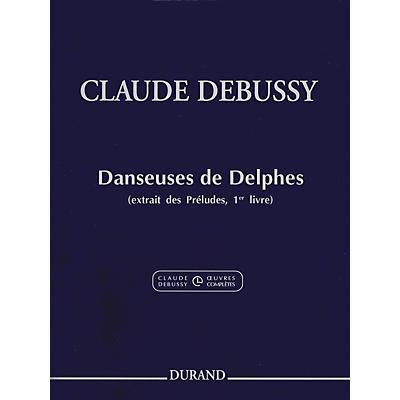 Durand Claude Debussy Danseuses de Delphes Book 1 For Piano
