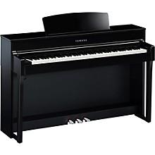 Clavinova CLP-645 Console Digital Piano with Bench Polished Ebony