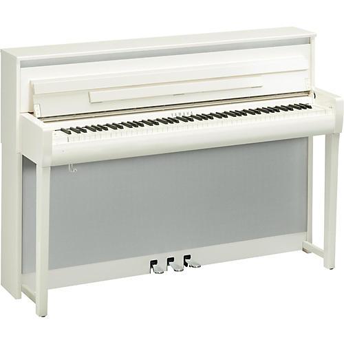 Yamaha Clavinova CLP-685 Console Digital Piano with Bench Polished White