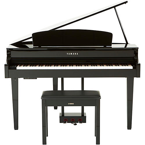 yamaha clavinova clp565gp digital grand piano with bench musician 39 s friend. Black Bedroom Furniture Sets. Home Design Ideas