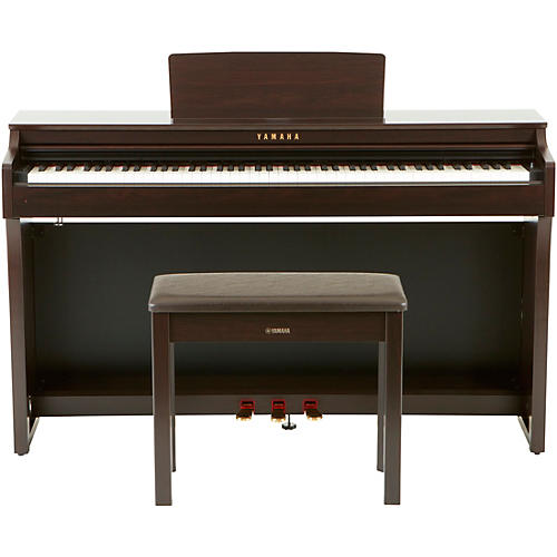 yamaha clavinova clp625 console digital piano with bench rosewood musician 39 s friend. Black Bedroom Furniture Sets. Home Design Ideas