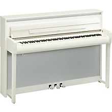 Clavinova CLP685 Console Digital Piano with Bench Polished White