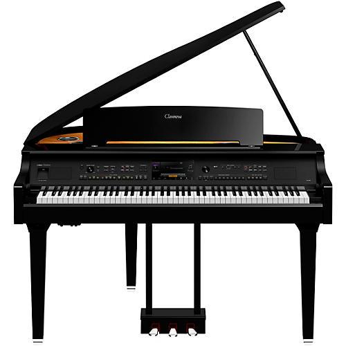 Yamaha Clavinova CVP-809 Digital Grand Piano with Bench Polished Ebony